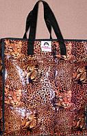 Хозяйственная сумка,,leopard,,(уп-12 шт) (35*40 см)