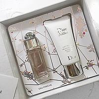 Набор духи и лосьон для тела Dior Addict (реплика).