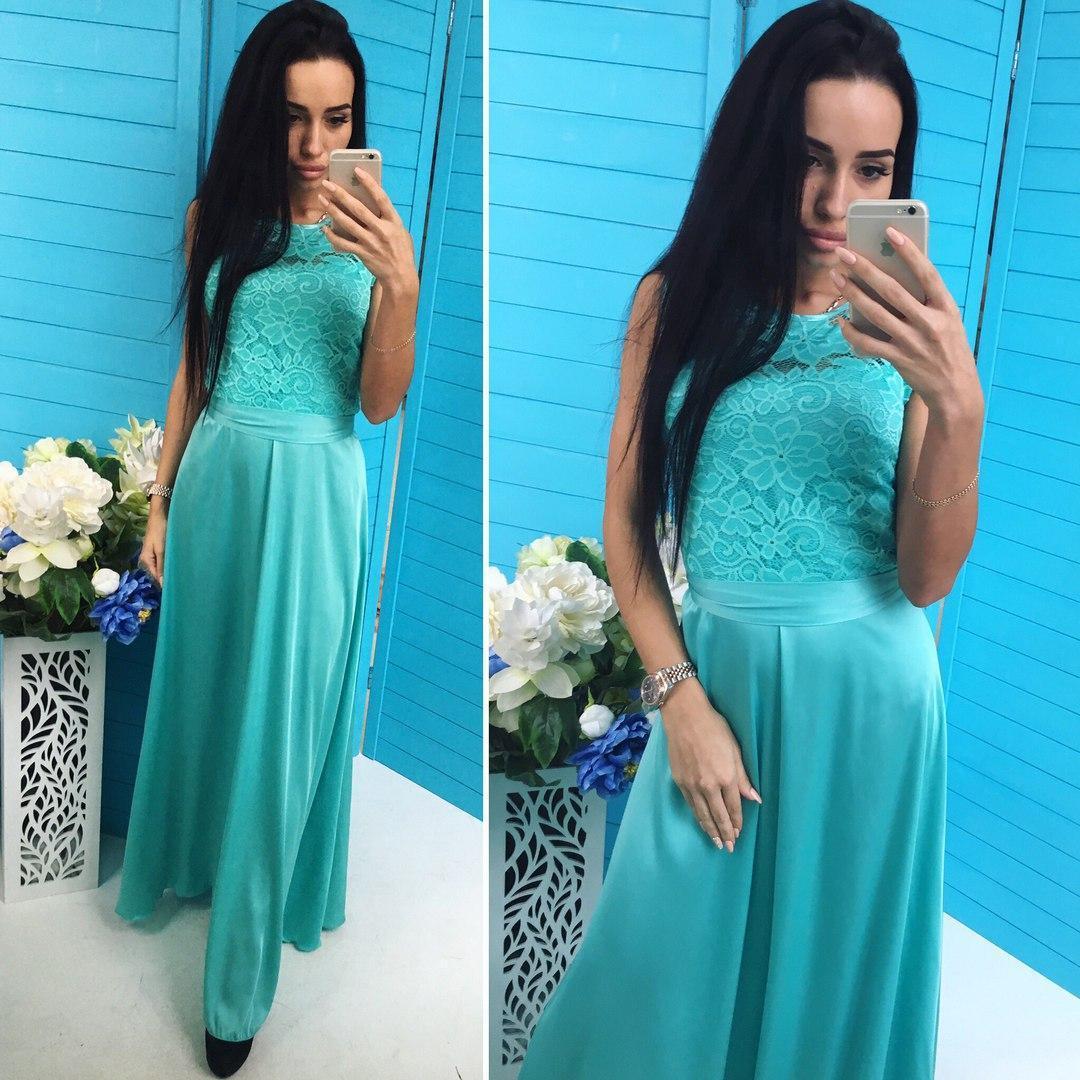 627228a383b Вечернее Шикарное Длинное Платье в Пол Бирюзовое — в Категории ...