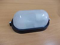 Светильник НПП1401 чёрный/овал 60Вт
