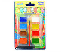 Школьная краска Акварельная медовая 02888 на 8 цветов