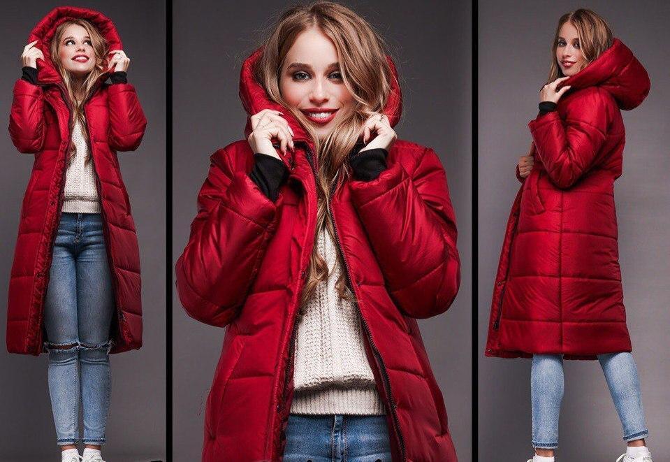 c81aa478ba9 Зимнее очень теплое удлиненное пальто - дутик на синтепоне -