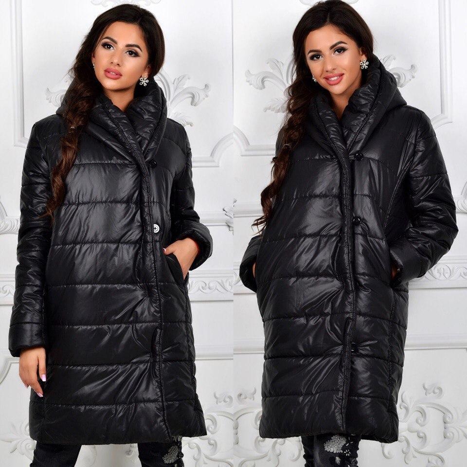 0bcc60ae925 Женская зимняя куртка- пальто дутик супер теплое  продажа