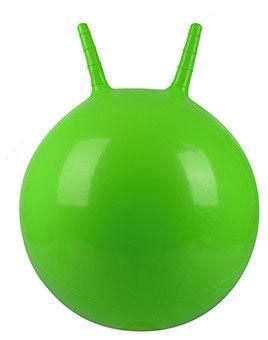 Мяч для фитнеса MS 0380 с рожками, 45 см, разные цвета, фото 1