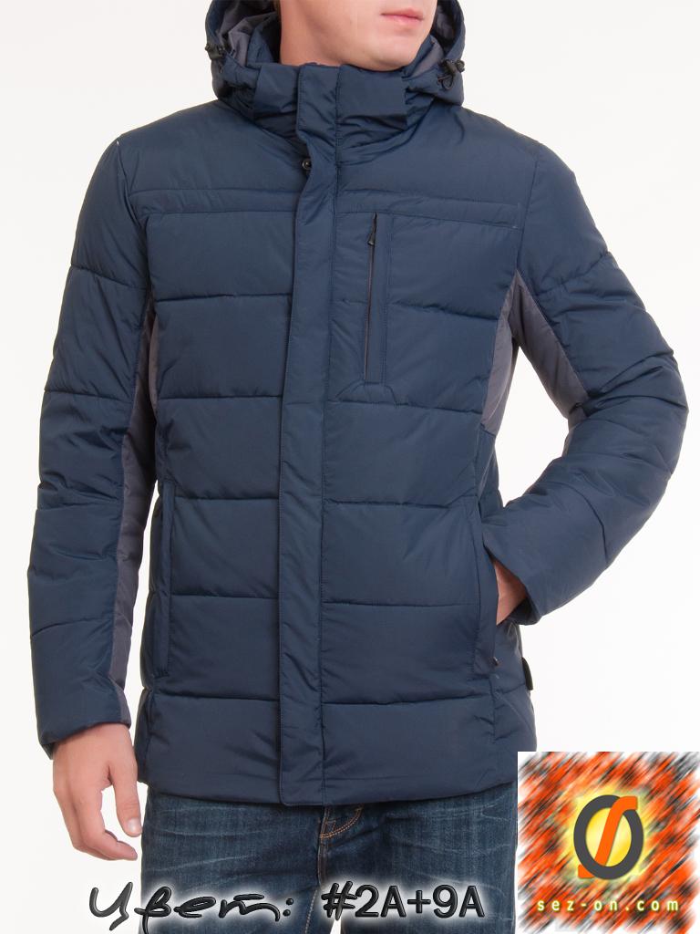 Куртка зимняя мужская Malidinu 14715 Тинсулейт Синий