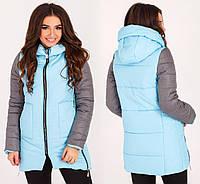 Зимняя супер теплая стильная куртка  женская
