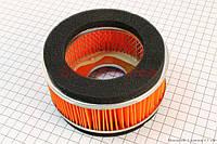 Фильтр-элемент воздушный круглый  для китайских скутеров 4т 150 сс