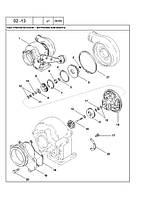02 -13 ВНУТРІШНІ КОМПОНЕНТИ ВУЗЛА ТУРБОНАГНІТАЧА - узел турбонагнетателя — внутренние компоненты трактора NEW HOLLAND T8010, T8020, T8030, T8040,