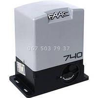 FAAC 740 автоматика для откатных ворот привод