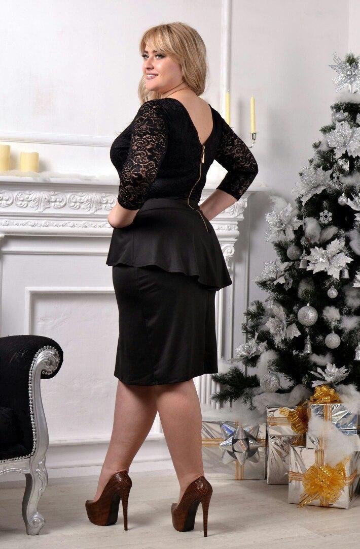 72d208016cf7ef0 ... Нарядное и очень красивое гипюровое платье с баской большого размера 50- 54 короткое до колена ...