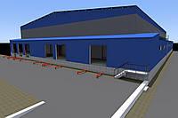 Проектирование быстровозводимых зданий, ангаров, овощехранилищ, таун-хаусов