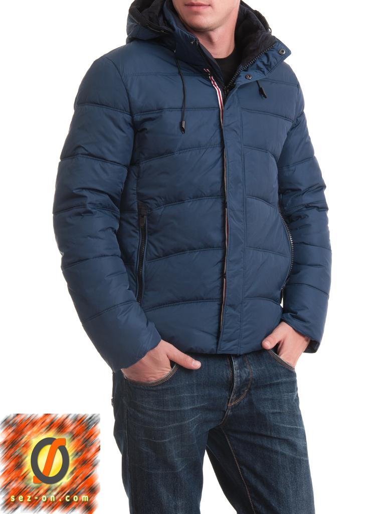 Мужская куртка зимняя Malidinu 14211 Тинсулейт Синий