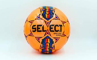 М'яч футбольний №5 PU ламін. ST BRILLANT SUPER ST-5844 помаранчевий-синій-червоний (№5, 5 сл.)