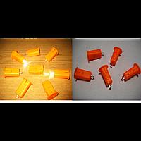 Светодиод для бумажных фонариков ( белый)