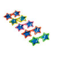 Очки карнавальные пластмассовые 'Звезда'