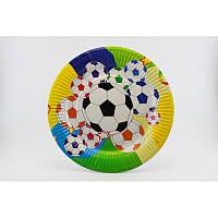 Тарелка 23 см. 'Футбол' 10 шт.