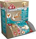 Лакомство 8in1 Pro Dental для собак Кость прессованная с куриным мясом XS 7 см 1 шт, фото 2