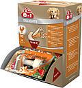Лакомство 8in1 для собак Кость прессованная с куриным мясом XS 7 см 1 шт, фото 2