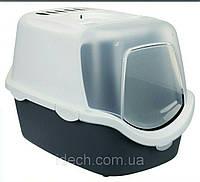 Туалет закрытый Vico Open Top Litter Tray, с капюшоном, фото 1