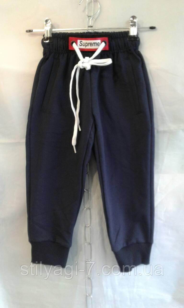 Спортивные штаны для мальчика на 2-6 лет черного цвета оптом