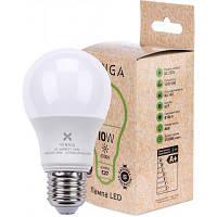 Лампочка Vinga VL-A60E27-104L світлодіодна (LED), Е27, 10 Вт, 4000 К (нейтральний білий), 220 В, ене