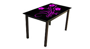 Стеклянный стол Монарх Флай (1100*640*760 мм.)
