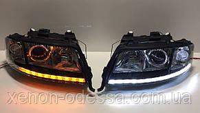 ДХО с бегущими поворотами Crystal LED DRL  + Flowing Turning Light