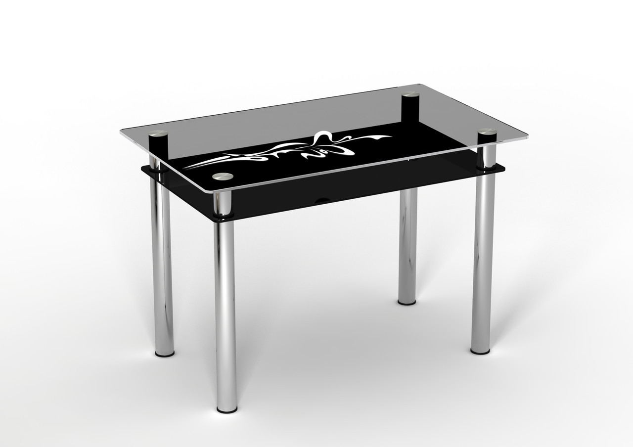 Скляний стіл Стріла (900*650*750 мм.)