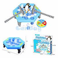Настольная игра Ловушка для пингвина (Не урони пингвина): компактная версия!, фото 1