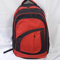 Рюкзак черный с красным, фото 1