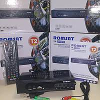 Тюнер эфирный цифровой Т2 Romsat TR-2018HD с видеозаписью