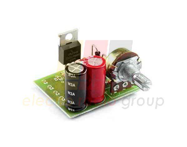 Радиоконструктор M124 (регулятор мощности с ШИМ)
