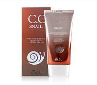 CC крем с улиточным муцином Ekel CC Snail Cream SPF50+
