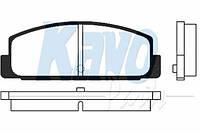 Тормозные колодки задние на  Mazda 323 BA 1.8; BJ; BG (KAVO)