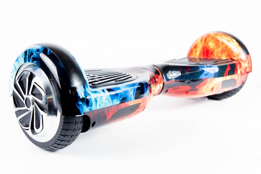 Гироскутер Smart Balance 6.5 дюймов огонь и лед с приложением тао тао