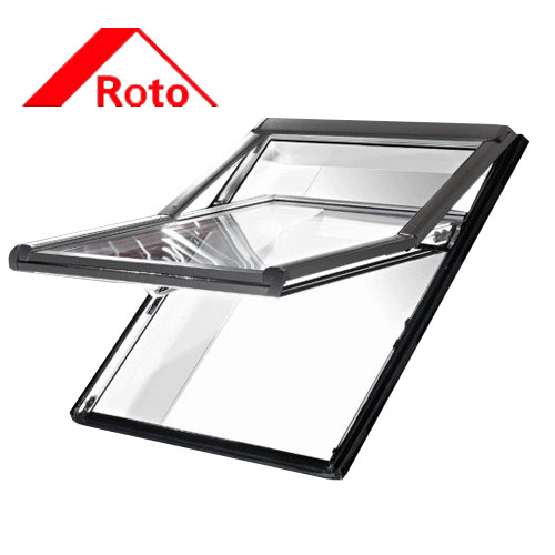 Мансардное окно Roto Designo R75 K+WD 5/9 (ПВХ рама, однокамерный стеклопакет с Аргоном)