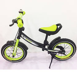 Велобіг від, Беговел BALANCE TILLY 12 Matrix T-21259 Green, Дитячий безпедальный велосипед ( зелений )