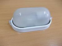 Светильник НПП1401 белый/овал 60Вт, фото 1