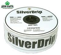 Крапельна стрічка, краплинний полив щілинної SilverDrip (Сільвер Дріп) 1400м\6мм\10см,15см Корея