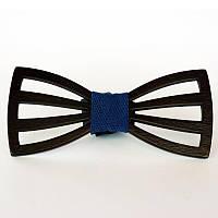 Деревянный галстук-бабочка №15