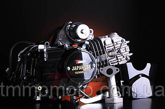 Двигатель Дельта / Альфа 125 куб см  54мм алюминиевый цилиндр механика  чёрный, фото 2