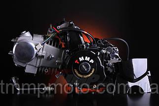 Двигатель Дельта/Альфа-125 сс Racing 54см алюминиевый цилиндр полуавтомат  чёрный NEW, фото 2