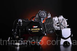 Двигатель Дельта/Альфа-125 сс Racing 54см алюминиевый цилиндр полуавтомат  чёрный NEW, фото 3