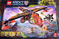 Конструктор Lepin 14044 Nexo Knights Нексо Найтс Аэро-арбалет Аарона 638 деталей, фото 1