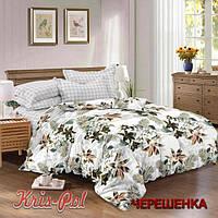 Двуспальный набор постельного белья 180*220 из Сатина №394AB KRISPOL™