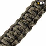 Браслет Паракорд M-Tac Каратель с Гильзами 9мм Олива/Черный, фото 5