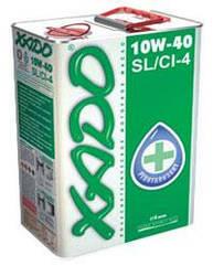 Полусинтетическое моторное масло XADO Atomic Oil 10W-40 SL/CI-4 (4л)