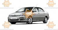 Ветровик Toyota  Corolla IX (E120, E130) седан 2001-2007 (скотч) AV-Tuning