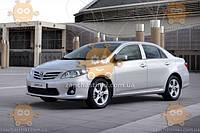 Ветровик Toyota  Corolla X (E140, E150) седан 2007-2012 (скотч) ANV