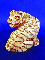 Нэцкэ из гипса Тигр